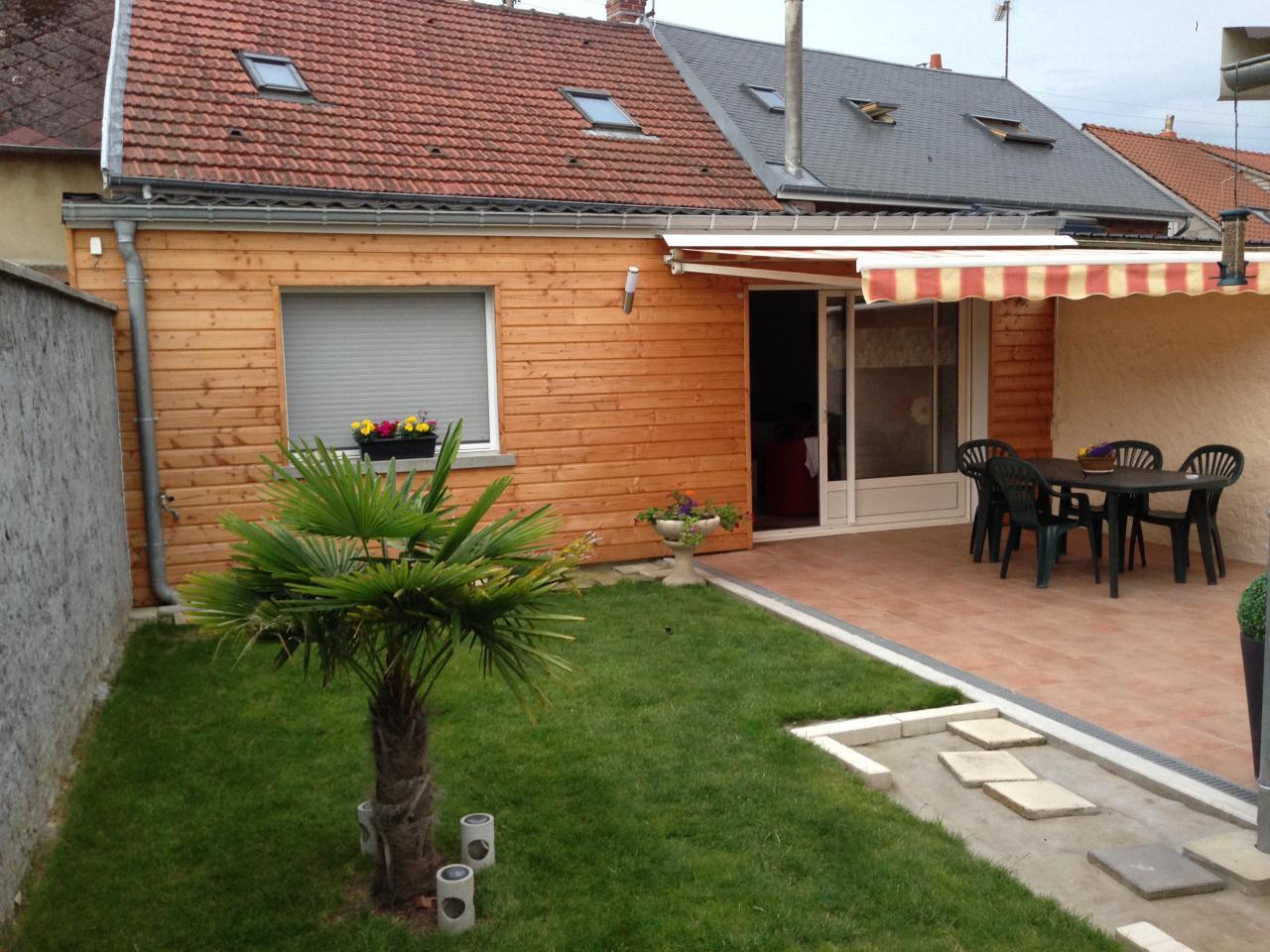 Bardage bois avec isolation extérieure